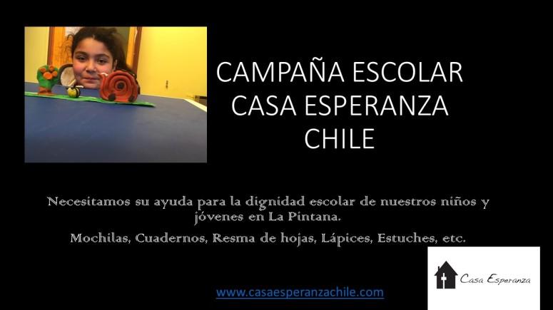 CAMPAÑA ESCOLAR 2018